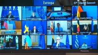 Líderes europeus negoceiam plano de recuperação económica do bloco