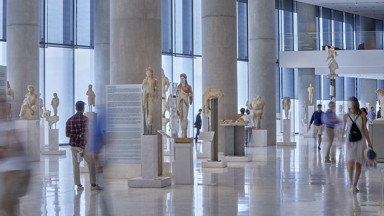 Η Αίθουσα της Αρχαϊκής Ακρόπολης