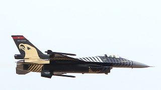 مقاتلة إف 16 تابعة لسلاح الجو التركي