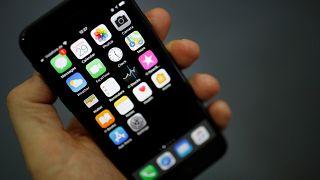 Photo d'illustration d'un smartphone Iphone