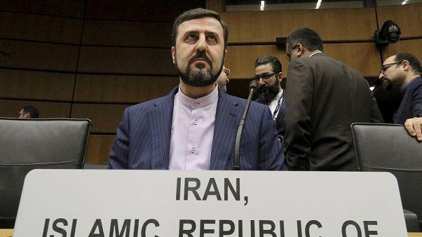 کاظم غریبآبادی، نمایندهٔ ایران در آژانس بینالمللی انرژی اتمی
