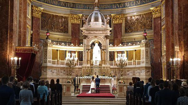 Esküvő a Szent István Bazilikában