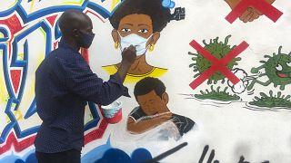 A pandémia köszön vissza a kongói falrajzokon