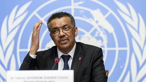 المدير العام لمنظّمة الصحة العالمية تيدروس أدهانوم غبريسوس