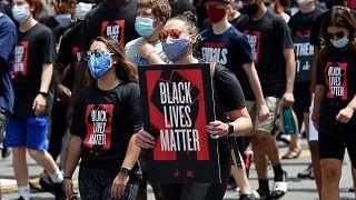 من الاحتجاجات في الولايات المتحدة