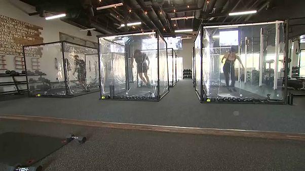 Ατομικά «κουτιά»-γυμναστικής στην Καλιφόρνια