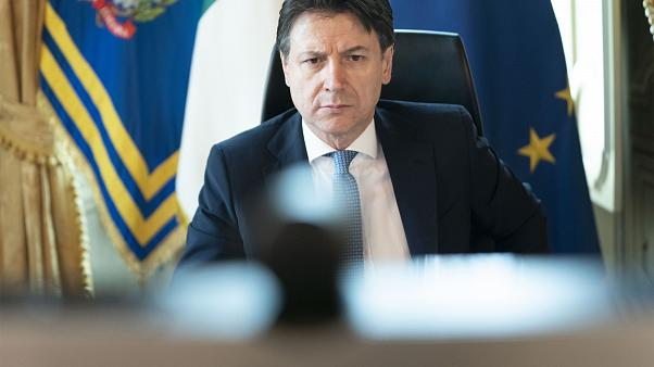 رئيس الحكومة الايطالي جيوسيبي كونتي