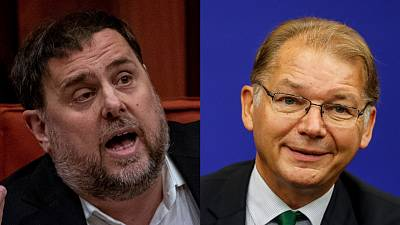 Oriol Junqueras and Philippe Lamberts