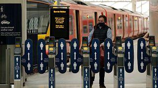A londoni Waterloo pályaudvar