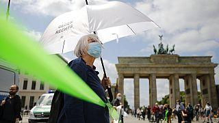 Διαδήλωση στο κέντρο της γερμανικής πρωτεύουσας