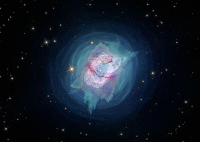 تصویر از وبسایت ناسا NASA, ESA and J. Kastner (RIT)