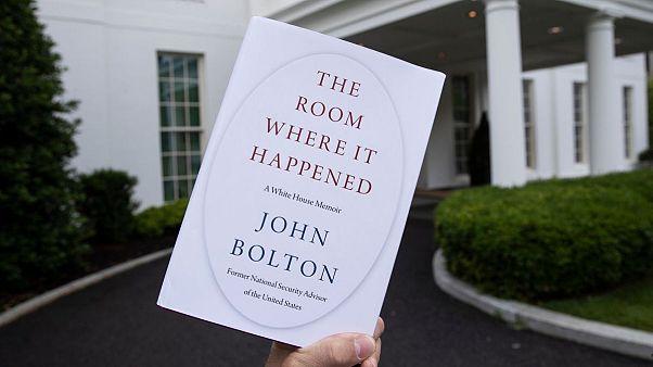 قاضی فدرال آمریکا انتشار کتاب جنجالی بولتون درباره ترامپ را مجاز دانست