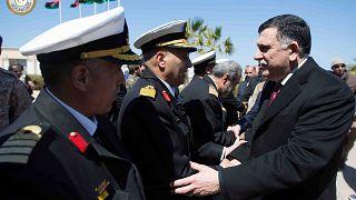 Trablus merkezli Ulusal Mutabakat Hükümeti'nin Başbakanı Feyiz el Serrac