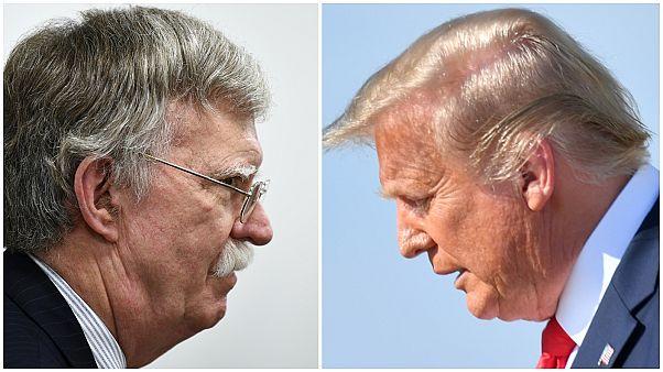 John Bolton ve Donald Trump