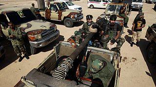 Hafter'e bağlı güçler Sirte yolunda