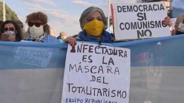 Cacerolada en Argentina contra la expropiación de la empresa agroexportadora Vicentín
