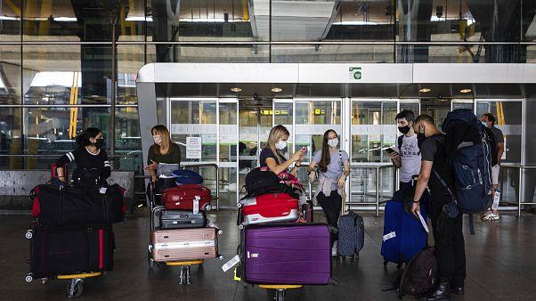 Adolfo Suarez-Barajas international airport, Espagne