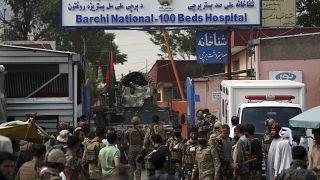 Afganistan'ın başkenti Kabil'de IŞİD tarafından bir doğum hastanesini hedef alan saldırı gerçekleştirilmişti (arşiv)