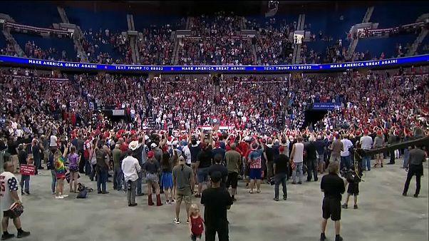 Trump: Erste Massenveranstaltung seit Coronakrise