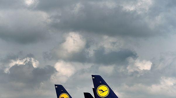 Lufthansa-Flugzeuge