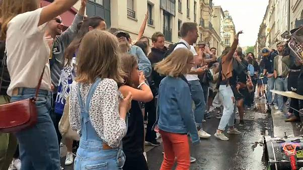 Dancing in the streets, a central part of any Fête de la musique, was not overlooked this year