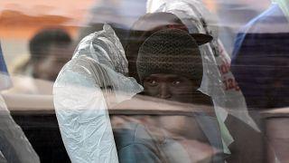 Migranti in arrivo in Italia