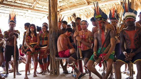 Indián törzs Brazíliában