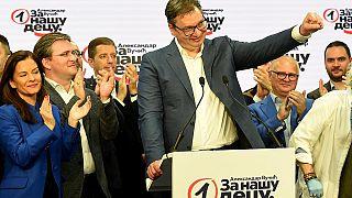 برگزاری انتخابات در صربستان