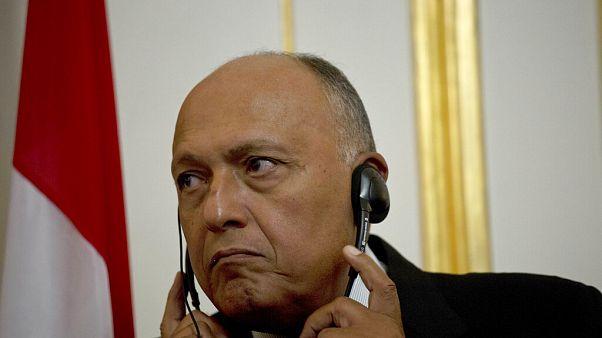 Mısır Dışişleri Bakanı Samih Şukri.