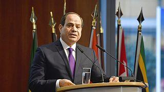 Ägyptens Präsident Abdel Fattah al-Sisi im November