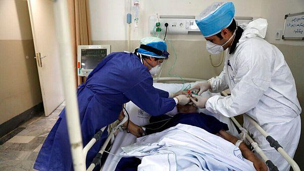 یکی از بیماران مبتلا به «کووید ۱۹» در تهران