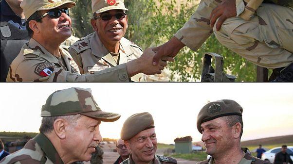بعد دعوة مجلس النواب الليبي ... ما هي ملامح القوة العسكرية المصرية والتركية وفرص المواجهة بينهما؟