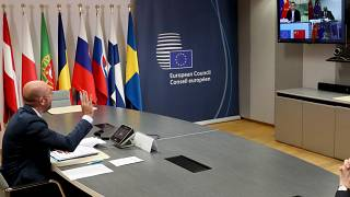 EU and Chinese leaders discussed the tense talks over video conference