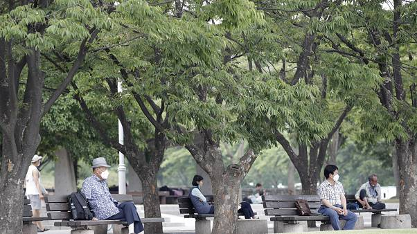 South Korea started to record around 40 to 50 new cases per day at the end of May.