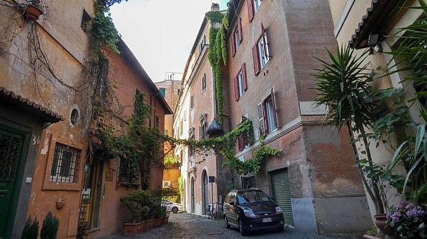 Trastevere district in Rome