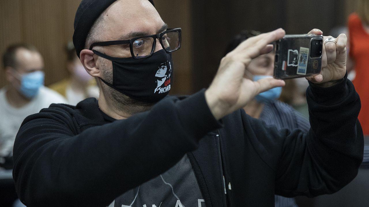 Кирилл Серебренников в Мещанском суде 22 июня 2020