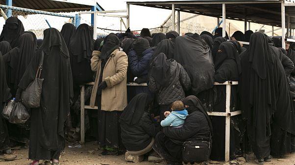 Suriye'nin kuzeydoğusundaki el Hol Kampı