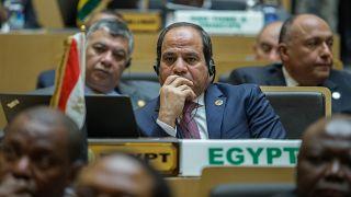 الرئيس المصري عبد الفتاح السيسي في القمة الإفريقية عام 2016