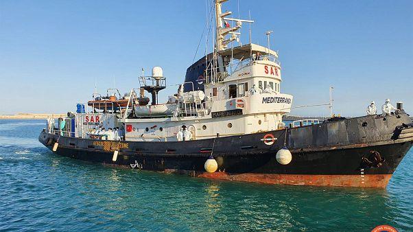 Le Covid-19, nouveau défi pour les navires de sauvetage en mer