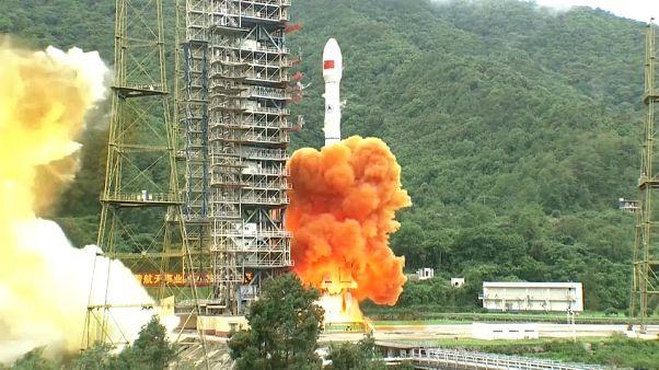 Kína navigációs műholdat lőtt fel