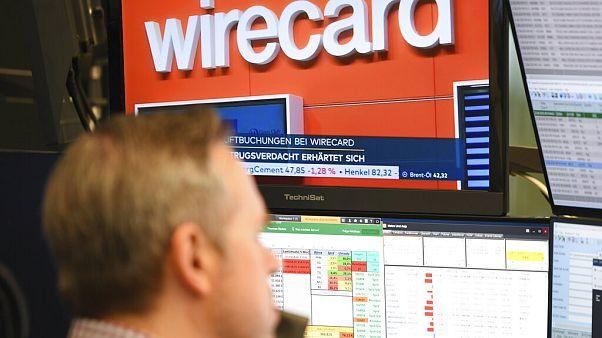 Wirecard-Aktien stürzten an der Börse infolge des Skandals ab.