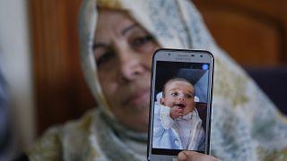 الرضيع الفلسطيني عمر ياغي