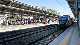 σιδηροδρομικός σταθμός της Αθήνας