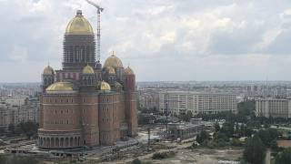 The National Cathedral in Bucharest