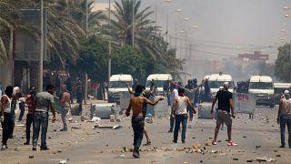 À Tataouine, dans le sud de la Tunisie, la colère des manifestants