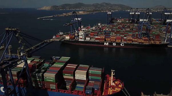 Covid-19 provoca quebra no comércio global