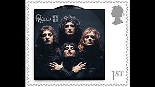 Bélyegsorozat a Queen együttesről