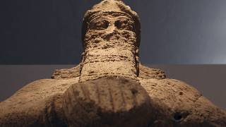 In this 2015 file picture, an 8th century Assyrian statue recovered in Mosul, Iraq, after being looted during the 2003 U.S. invasion of Iraq.