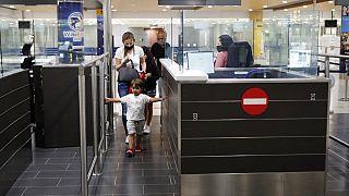 Cyprus' main airport in Larnaca