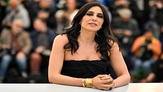 المخرجة اللبنانية نادين لبكي خلال مشاركتها في الدورة 72 لمهرجان كان السينمائي جنوب فرنسا - 2019/05/15